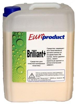 """""""Brilliant+"""" Полироль пластика, готовый к применению (5л) - фото 4585"""
