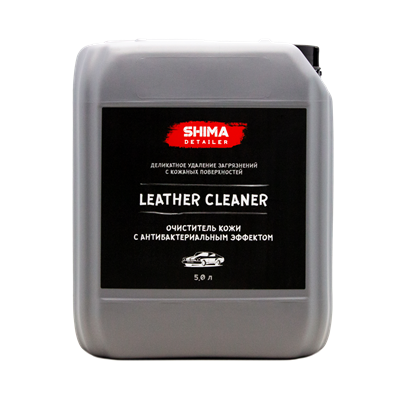 """Shima Detailer Leather Cleaner"" Очиститель кожи 5л. - фото 4592"