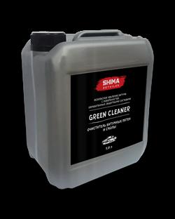 """""""Shima Detailer Green Cleaner"""" Очиститель битумных пятен и смолы 5л. - фото 4878"""