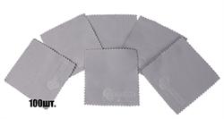 Салфетки для нанесения защитных составов 10*10 см серые  - фото 5076