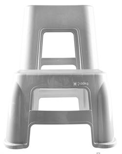 Стул - стремянка пластиковый для работы на высоте Au-1016 - фото 5281