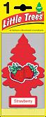 "LITTLE TREES Ароматизатор Ёлочка ""Клубника"" (Strawberry)"