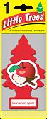 "LITTLE TREES Ароматизатор Ёлочка ""Яблоко с корицей"" (Cinamon Apple)"