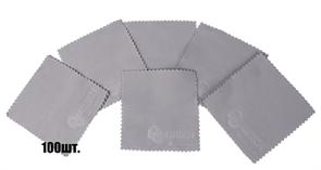 Салфетки для нанесения защитных составов 10*10 см серые
