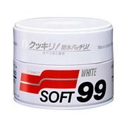 Полироль для кузова защитный Soft99 Soft Wax для светлых, 350 гр