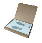 Защитная бумага на пол в салон автомобиля, в пачке 500 шт.