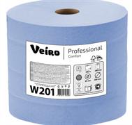 """""""Veiro Professional"""" Бумага протирочная  Comfort W201, 1000л/рулон, 33*35, 2-сл., 1 рулон"""