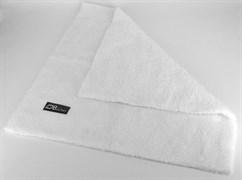 Микрофибровая двухворсовая салфетка, 400 г/см2 40х40см белая