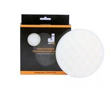 JETA PRO Полировальный диск твердый ребристый белый 150*25 мм