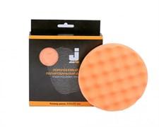 JETA PRO Полировальный диск полутвердый ребристый оранжевый 150*30 мм