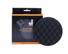 JETA PRO Полировальный диск мягкий ребристый черный 150*25 мм