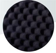 Мягкий полировальный диск черный (рифленый) 150x30мм