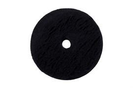 "155/25/155 ZviZZer ЧЕРНЫЙ меховой круг (ворс 15 мм) / ZviZZer ""Doodle"" Wool-Pad, black 15mm"