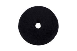 "135/25/135 ZviZZer ЧЕРНЫЙ меховой круг (ворс 15 мм) / ZviZZer ""Doodle"" Wool-Pad, black 15mm"