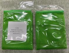 Вафельная микрофибра, АВ Waffle (для стекол),  (зел.) (400 гр.) 60х40см
